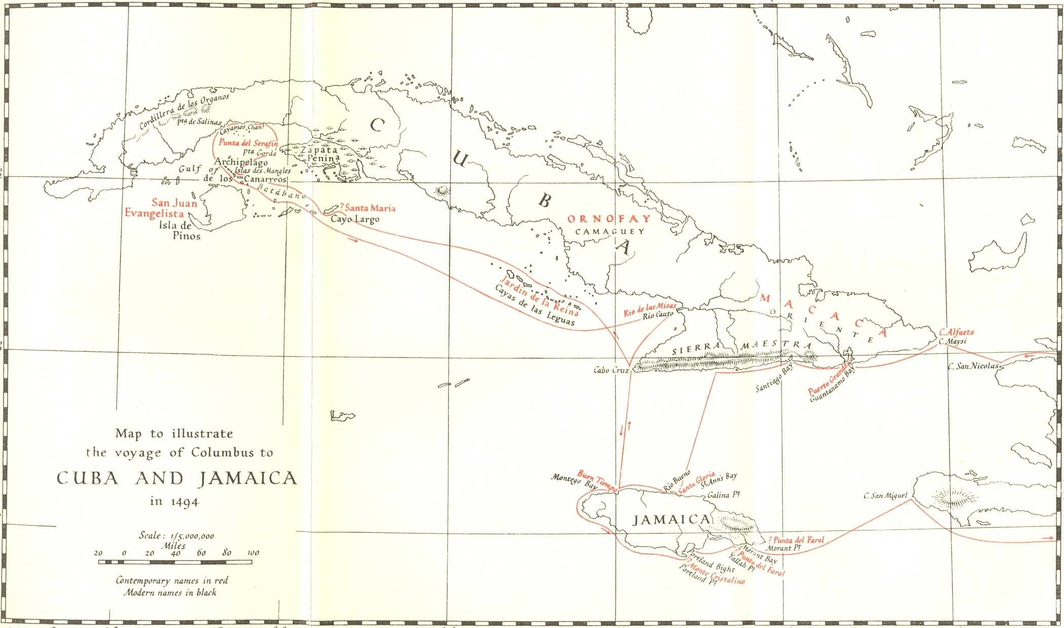 Columbus Second Voyage Amp The Discovery Of Jamaica